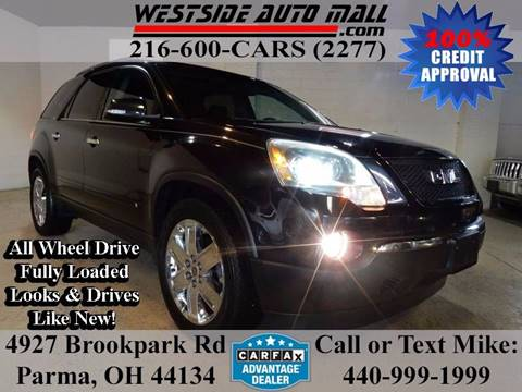 2010 GMC Acadia for sale at Westside Auto Mall in Parma OH