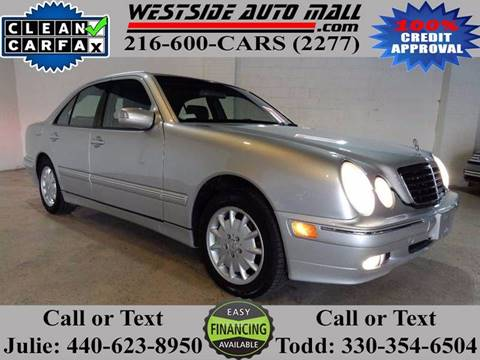 2001 Mercedes-Benz E-Class for sale at Westside Auto Mall in Parma OH