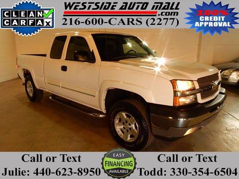 2005 Chevrolet Silverado 1500 for sale at Westside Auto Mall in Parma OH