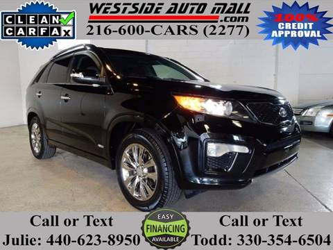 2011 Kia Sorento for sale at Westside Auto Mall in Parma OH