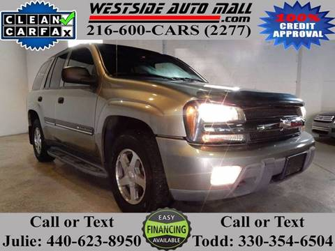 2002 Chevrolet TrailBlazer for sale at Westside Auto Mall in Parma OH