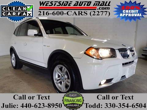 2006 BMW X3 for sale at Westside Auto Mall in Parma OH