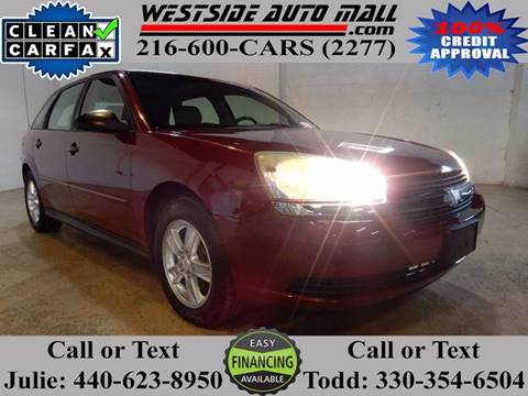 2005 Chevrolet Malibu Maxx for sale at Westside Auto Mall in Parma OH