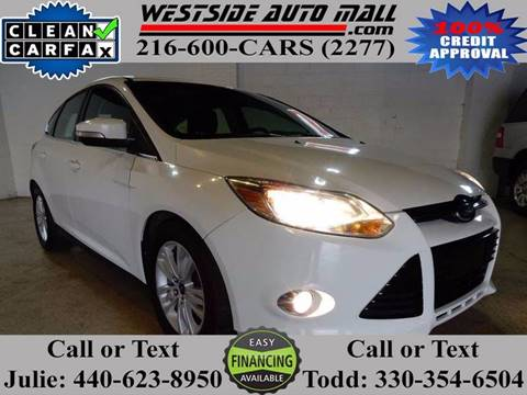 2012 Ford Focus for sale at Westside Auto Mall in Parma OH