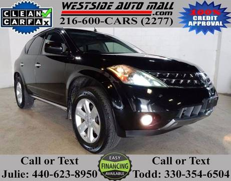 2007 Nissan Murano for sale at Westside Auto Mall in Parma OH