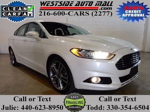 2014 Ford Fusion for sale at Westside Auto Mall in Parma OH