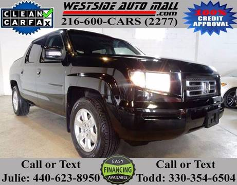 2008 Honda Ridgeline for sale at Westside Auto Mall in Parma OH