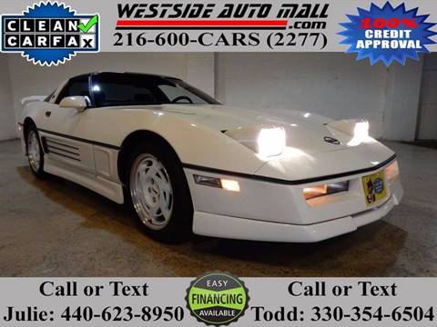 1987 Chevrolet Corvette for sale at Westside Auto Mall in Parma OH