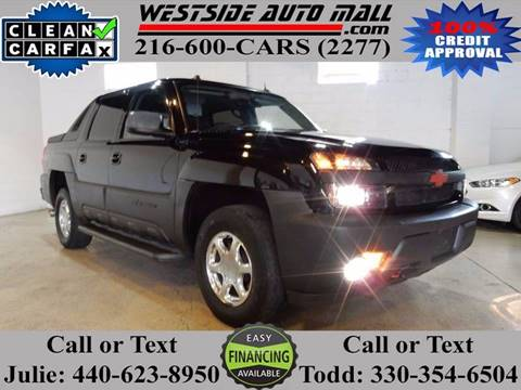 2005 Chevrolet Avalanche for sale at Westside Auto Mall in Parma OH