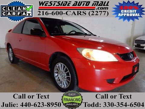 2005 Honda Civic for sale at Westside Auto Mall in Parma OH