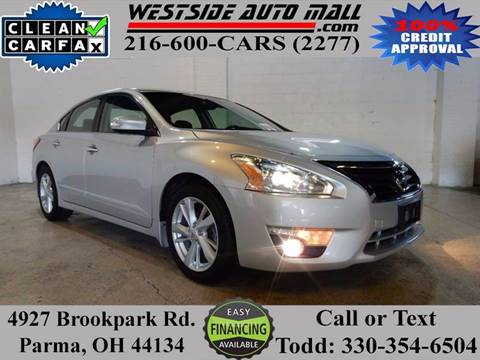 2014 Nissan Altima for sale at Westside Auto Mall in Parma OH