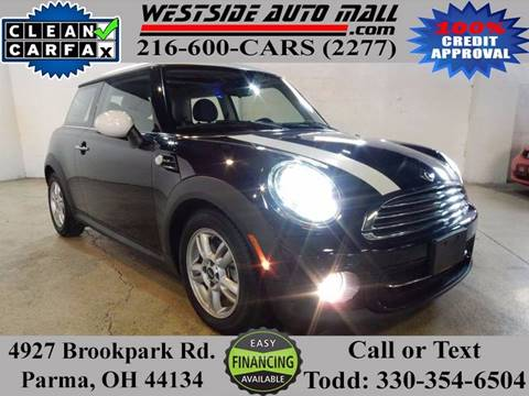 2013 MINI Hardtop for sale at Westside Auto Mall in Parma OH