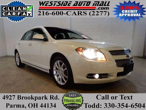 2010 Chevrolet Malibu for sale at Westside Auto Mall in Parma OH