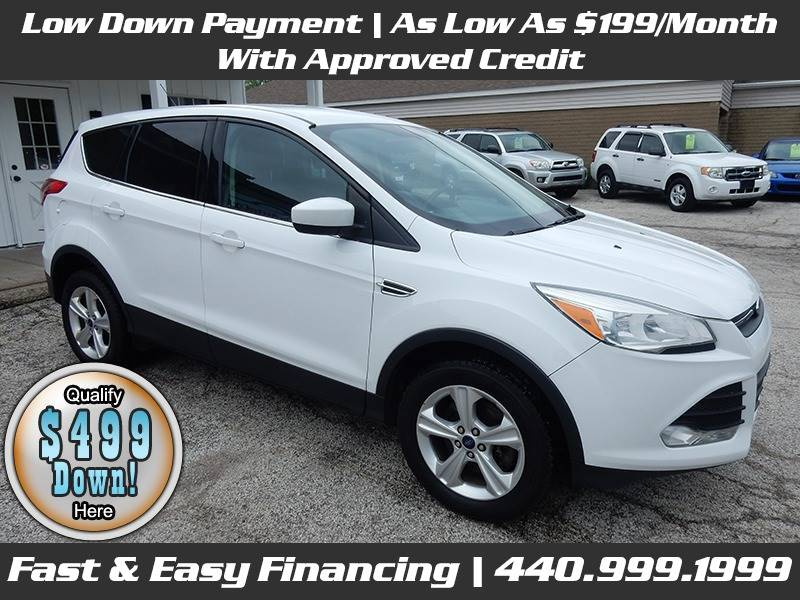 2013-Ford-Escape-SE AWD 4dr SUV-For-Sale-Lorain-Ohio for sale at Lorain Auto Credit