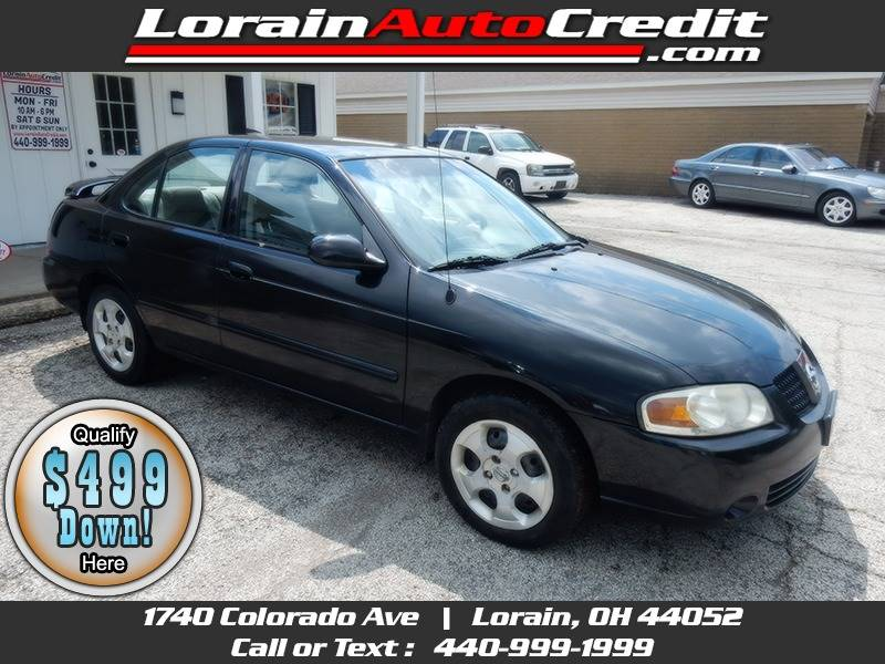 2004 Nissan Sentra 1.8 S 4dr Sedan For Sale Lorain