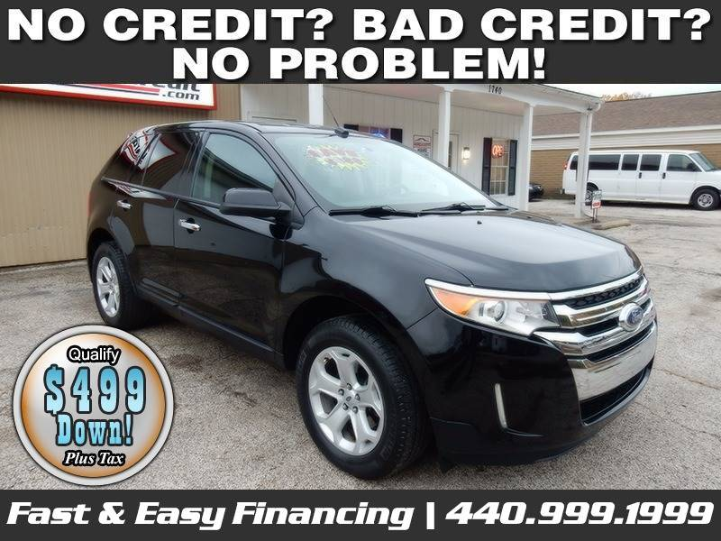 2011-Ford-Edge-SEL 4dr Crossover-For-Sale-Lorain-Ohio for sale at Lorain Auto Credit