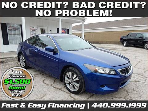 2008 Honda Accord for sale in Lorain, OH