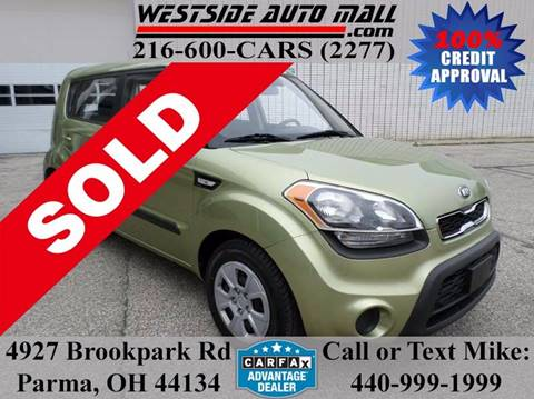 2013 Kia Soul for sale at Westside Auto Mall in Parma OH