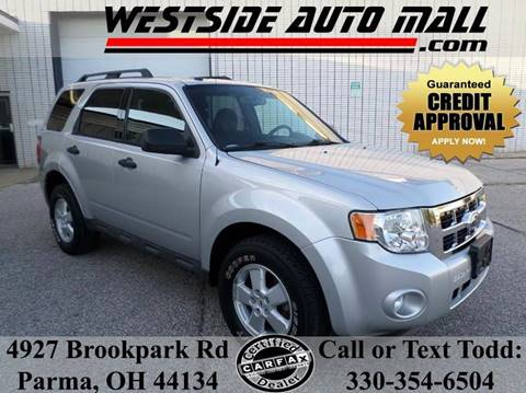 2009 Ford Escape for sale at Westside Auto Mall in Parma OH