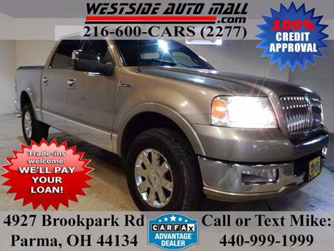 2006 Lincoln Mark LT for sale at Westside Auto Mall in Parma OH