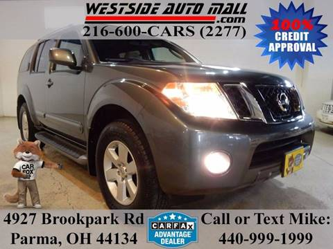 2008 Nissan Pathfinder for sale at Westside Auto Mall in Parma OH