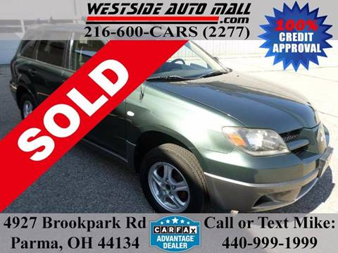 2004 Mitsubishi Outlander for sale at Westside Auto Mall in Parma OH