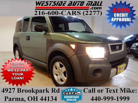 2005 Honda Element for sale at Westside Auto Mall in Parma OH