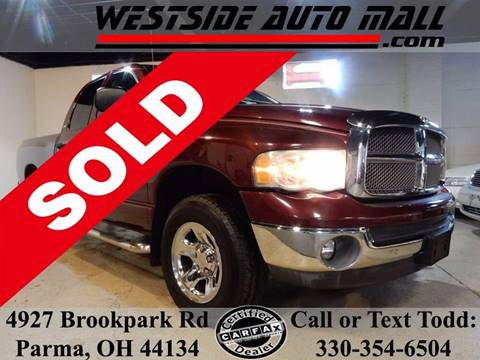 2002 Dodge Ram Pickup 1500 for sale at Westside Auto Mall in Parma OH