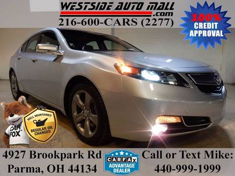 2013 Acura TL for sale at Westside Auto Mall in Parma OH