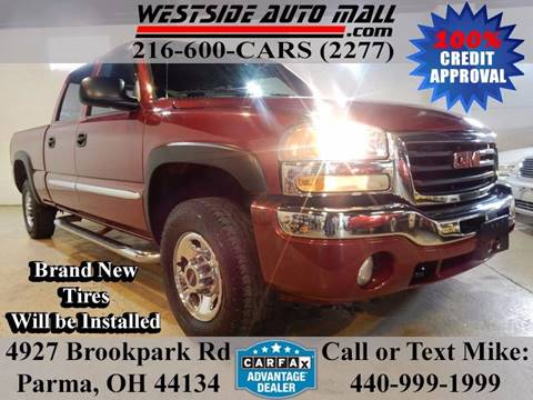 2006 GMC Sierra 1500HD for sale at Westside Auto Mall in Parma OH