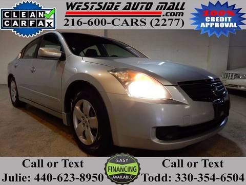 2007 Nissan Altima for sale at Westside Auto Mall in Parma OH