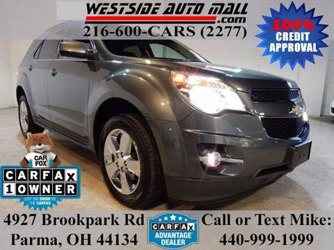 2013 Chevrolet Equinox for sale at Westside Auto Mall in Parma OH