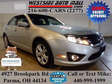 2012 Ford Fusion for sale at Westside Auto Mall in Parma OH