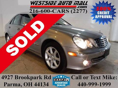 2007 Mercedes-Benz C-Class for sale at Westside Auto Mall in Parma OH