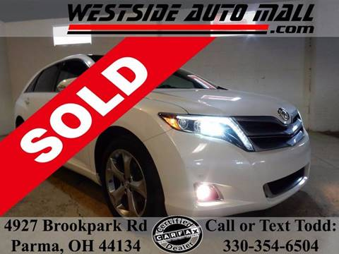 2014 Toyota Venza for sale at Westside Auto Mall in Parma OH