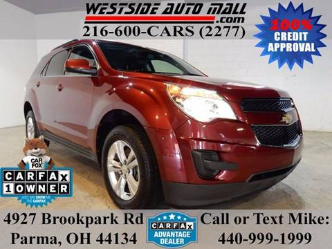 2012 Chevrolet Equinox for sale at Westside Auto Mall in Parma OH