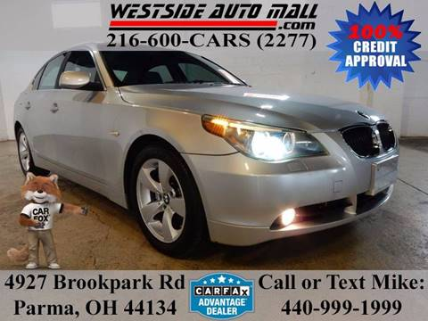 2005 BMW 5 Series for sale at Westside Auto Mall in Parma OH