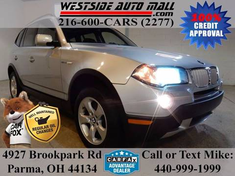 2008 BMW X3 for sale at Westside Auto Mall in Parma OH