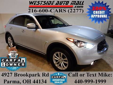 2011 Infiniti FX35 for sale at Westside Auto Mall in Parma OH