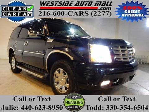 2005 Cadillac Escalade for sale at Westside Auto Mall in Parma OH
