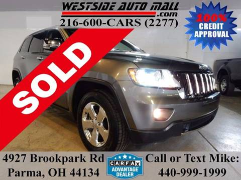 2013 Jeep Grand Cherokee for sale at Westside Auto Mall in Parma OH