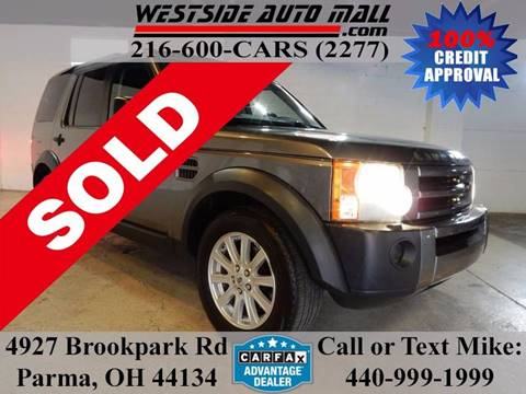 2007 Land Rover LR3 for sale at Westside Auto Mall in Parma OH