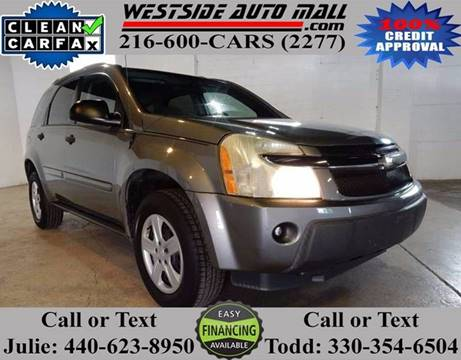 2005 Chevrolet Equinox for sale at Westside Auto Mall in Parma OH