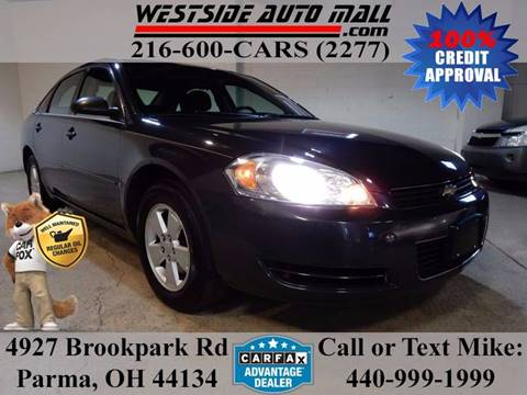 2008 Chevrolet Impala for sale at Westside Auto Mall in Parma OH