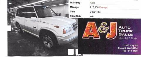 1998 Suzuki Sidekick for sale in Everett, WA