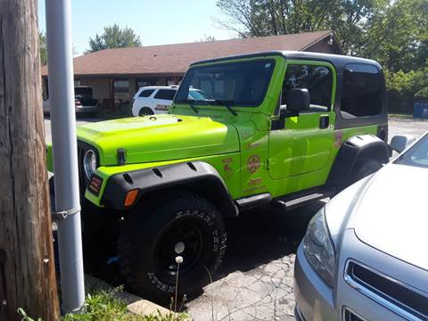2003 Jeep Wrangler for sale in Franklin, IN