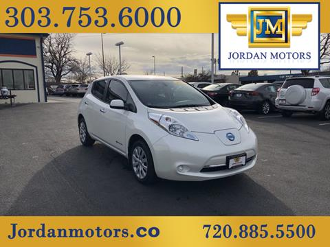 2017 Nissan LEAF for sale in Aurora, CO