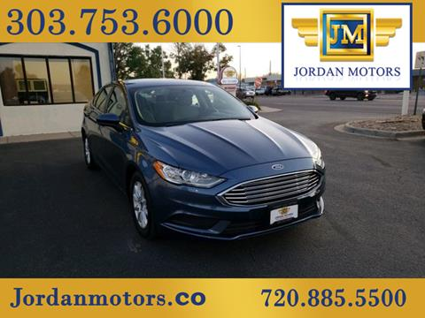 2018 Ford Fusion for sale in Aurora, CO