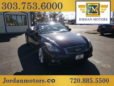 2012 Infiniti G37 Convertible for sale in Aurora, CO