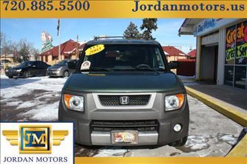 2003 Honda Element for sale in Colorado Springs, CO